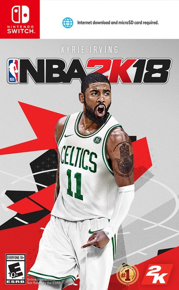 NBA 2K18 Switch coverM (AB38A)