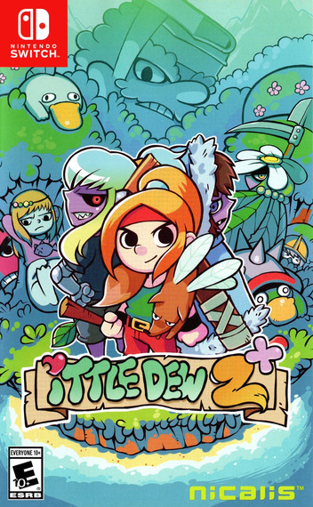 Ittle Dew 2+ Switch coverM (AB93A)