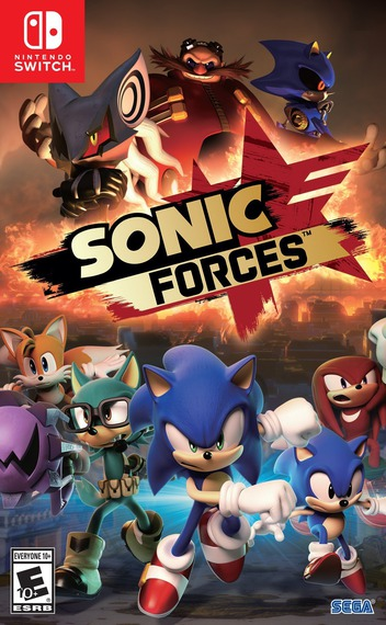 Sonic Forces Switch coverM (ABQLA)