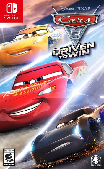 Cars 3: Driven to Win Switch coverM (ABTDA)