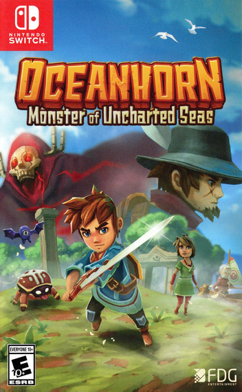 Oceanhorn - Monster of Uncharted Seas Switch coverM (ABYRA)