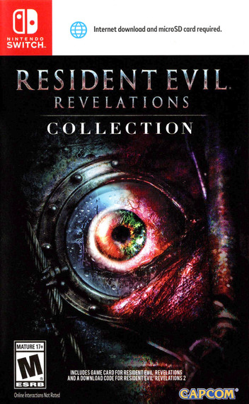 Resident Evil: Revelations Collection Switch coverM (ACC2A)