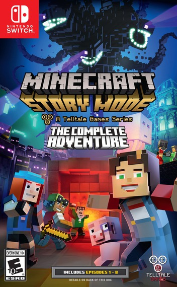 Minecraft: Story Mode - The Complete Adventure Switch coverM (ACS3A)