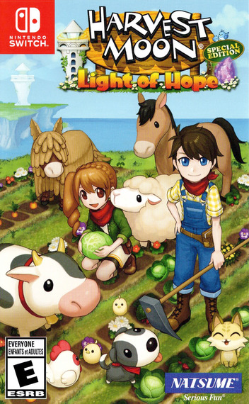 Harvest Moon: Light of Hope - Special Edition Switch coverM (AD6QA)