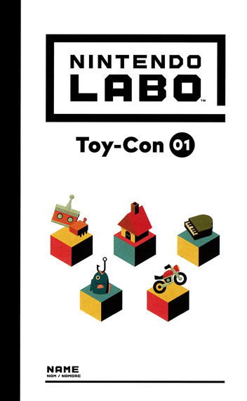 Nintendo Labo - Toy-Con 01: Variety Kit Switch coverM (ADFUA)