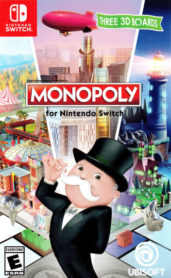 Monopoly for Nintendo Switch Switch coverM (ADQPA)