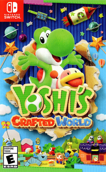 Yoshi's Crafted World Switch coverM (AEA2A)