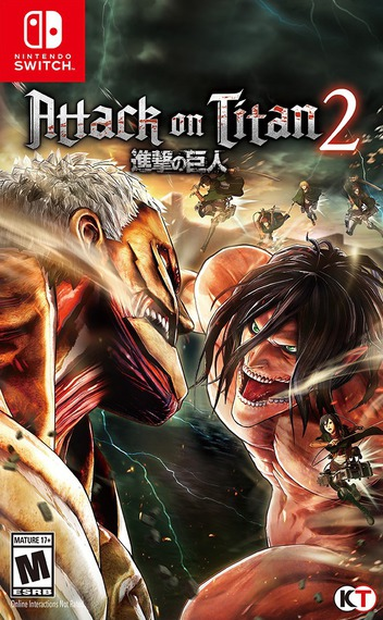 Attack on Titan 2 Switch coverM (AECNB)