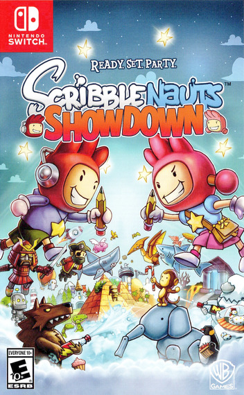 Scribblenauts Showdown Switch coverM (AEDXA)
