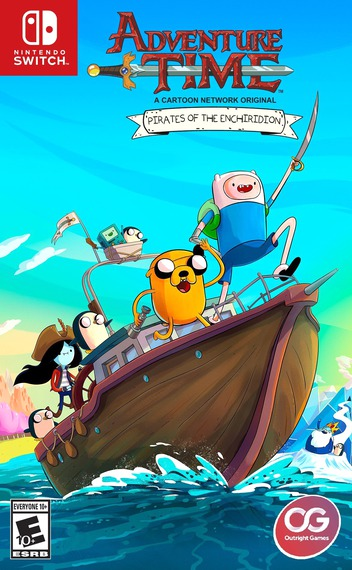 Adventure Time - Pirates of the Enchiridion Switch coverM (AES9A)