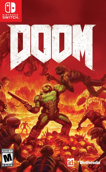 DOOM Switch coverM (AF3BA)