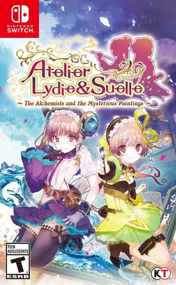 Atelier Lydie & Suelle ~The Alchemists and the Mysterious Paintings~ Switch coverM (AF49B)