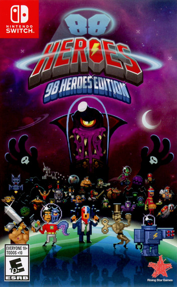 88 Heroes: 98 Heroes Edition Switch coverM (AFLJA)