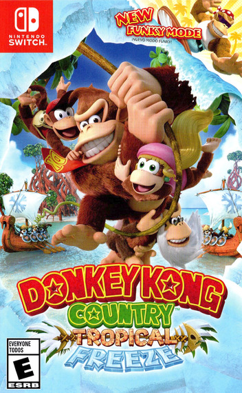Donkey Kong Country: Tropical Freeze Switch coverM (AFWTA)