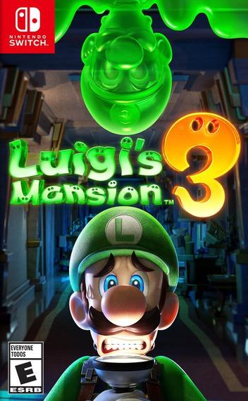 Luigi's Mansion 3 Switch coverM (AG3JA)