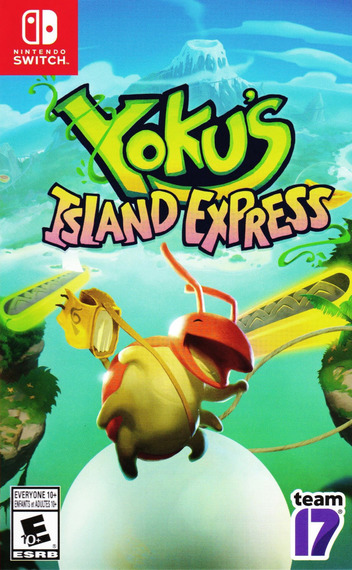 Yoku's Island Express Switch coverM (AGV8A)