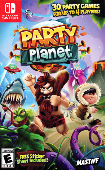 Party Planet Switch coverM (AHABA)