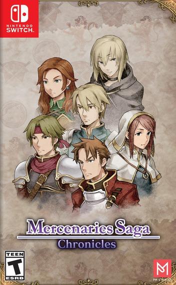 Mercenaries Saga Chronicles Switch coverM (AJ8JC)