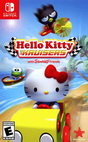 Hello Kitty Kruisers Switch coverM (AK9ZA)