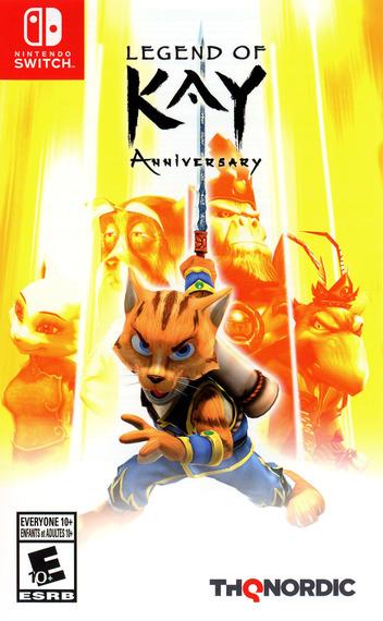 Legend of Kay - Anniversary Switch coverM (AKBFA)