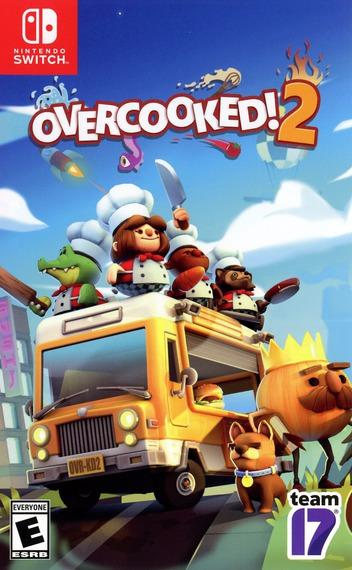 Overcooked! 2 Switch coverM (AKXEA)