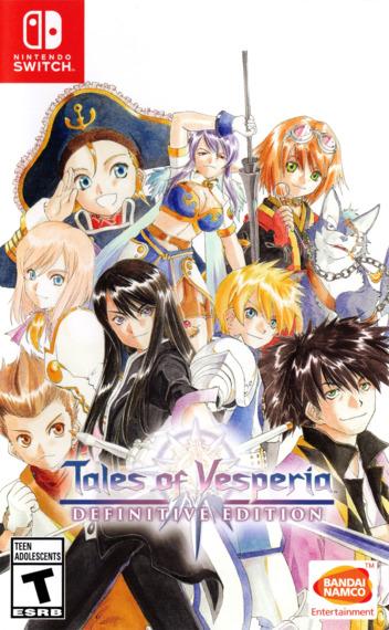 Tales of Vesperia: Definitive Edition Switch coverM (AL7WA)