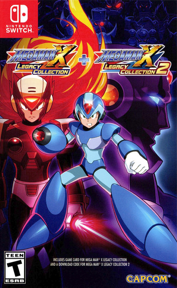 Mega Man X Legacy Collection Switch coverM (ALGGA)