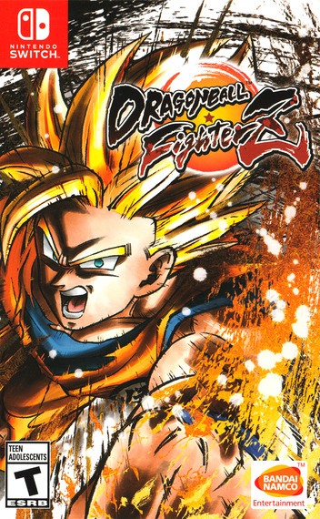 Dragon Ball FighterZ Switch coverM (AM5WA)