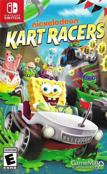 Nickelodeon Kart Racers Switch coverM (AMPZA)