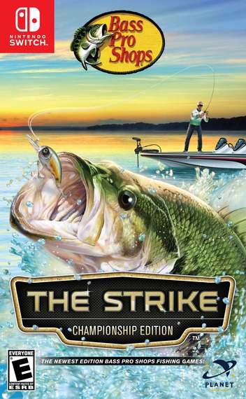 Bass Pro Shops - The Strike - Championship Edition Switch coverM (AMU5A)