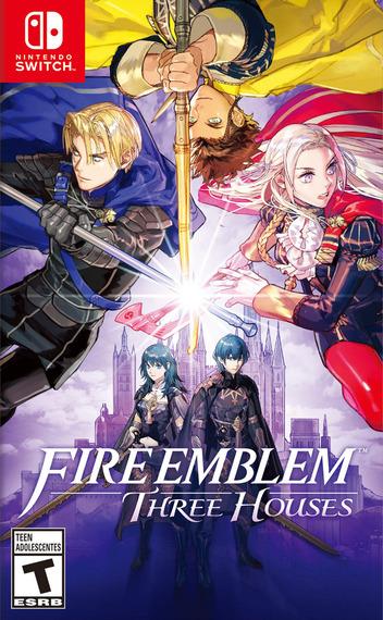 Fire Emblem: Three Houses Switch coverM (ANVYA)