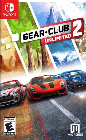 Gear.Club Unlimited 2 Switch coverM (AP6TA)