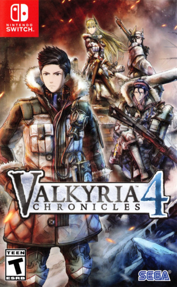 Valkyria Chronicles 4 Switch coverM (APSBB)