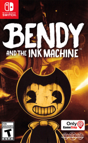Bendy and the Ink Machine Switch coverM (AQ8UA)
