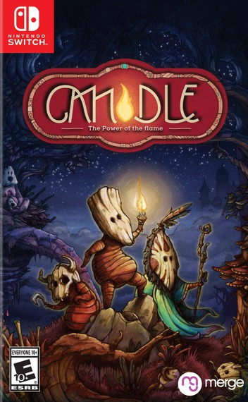 Candle - The Power of the Flame Switch coverM (AQA5B)