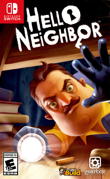 Hello Neighbor Switch coverM (AQA6A)