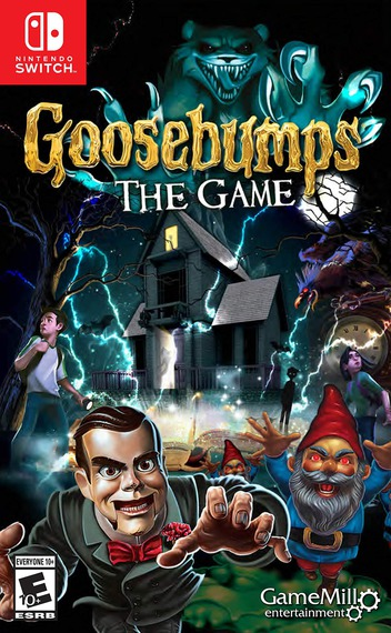 Goosebumps - The Game Switch coverM (AQBQA)