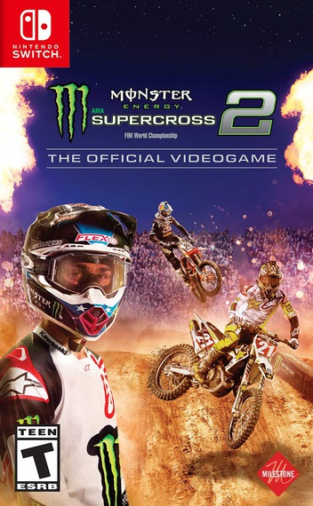 Monster Energy Supercross - The Official Videogame 2 Switch coverM (AQZ7A)