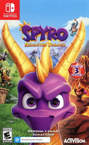 Spyro Reignited Trilogy Switch coverM (AT3CA)