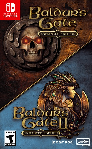 Baldur's Gate and Baldur's Gate II: Enhanced Editions Switch coverM (ATNRA)