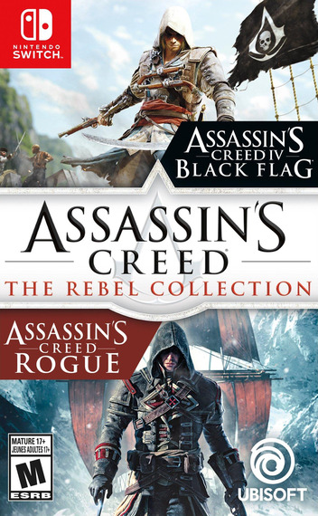 Assassin's Creed: The Rebel Collection Switch coverM (ATXEA)