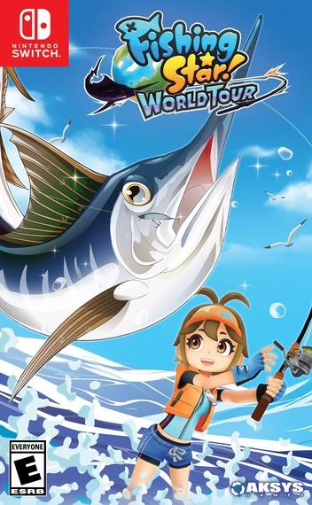 Fishing Star World Tour Switch coverM (AU6KA)