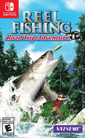 Reel Fishing Road Trip Adventure Switch coverM (AULRA)