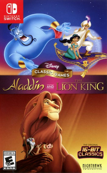 Disney Classic Games: Aladdin and The Lion King Switch coverM (AVEPA)
