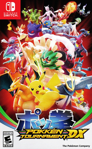 Pokken Tournament DX Switch coverM (BAAYA)