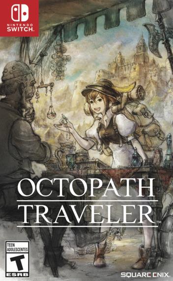 Octopath Traveler Switch coverM (AGY7B)