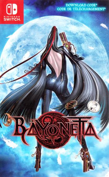 Bayonetta 2 Switch coverM2 (AE98A)
