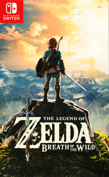 The Legend of Zelda: Breath of the Wild Switch coverM2 (AAAAA)