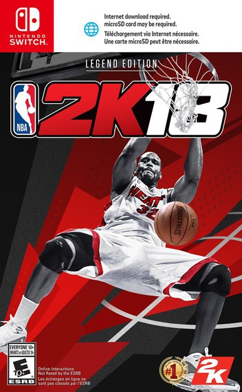 NBA 2K18 Switch coverM2 (AB38A)