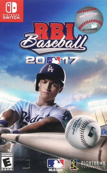 R.B.I. Baseball 17 Switch coverM2 (AEG7A)